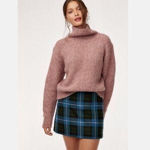 Aritzia Wilfred Renee Plaid Mini Skirt